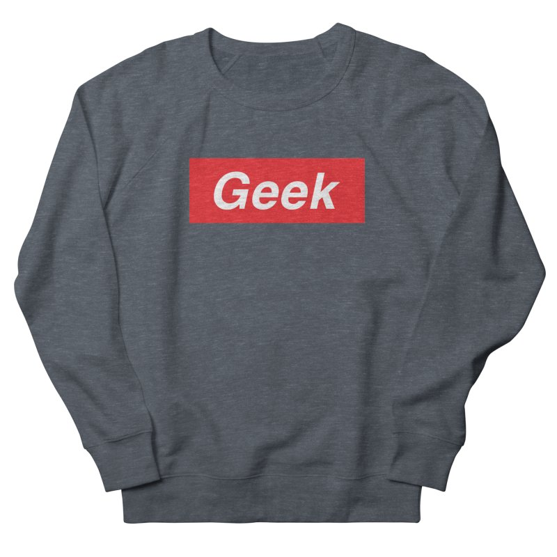 GEEK Men's Sweatshirt by alchemist's Artist Shop