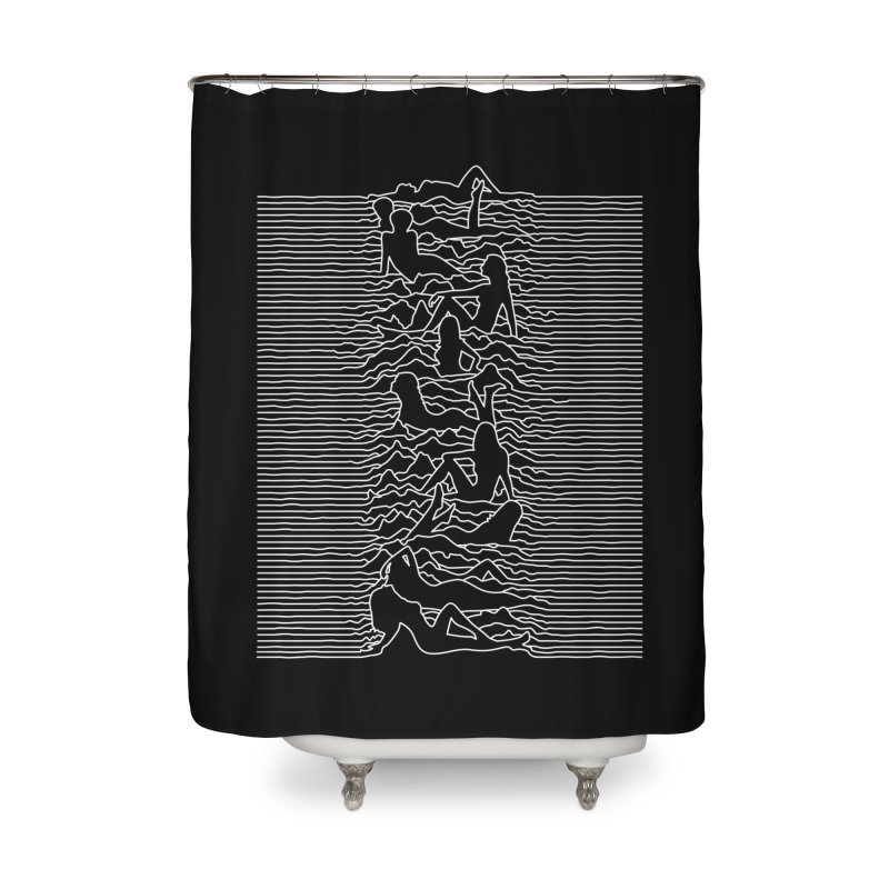 HOT DIVISION Home Shower Curtain by alchemist's Artist Shop