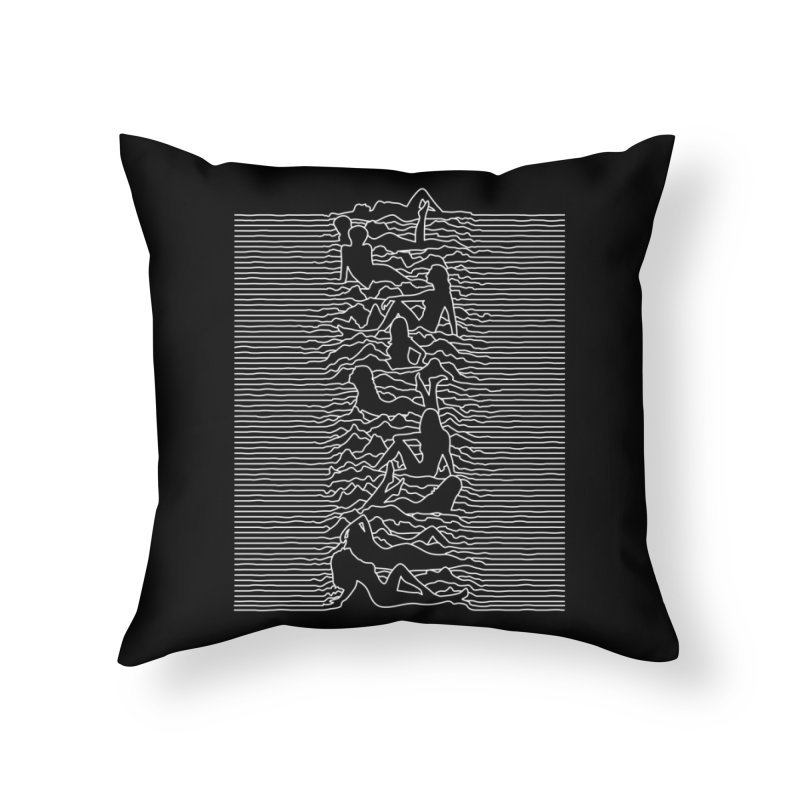 HOT DIVISION Home Throw Pillow by alchemist's Artist Shop