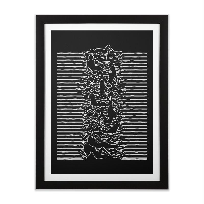 HOT DIVISION Home Framed Fine Art Print by alchemist's Artist Shop