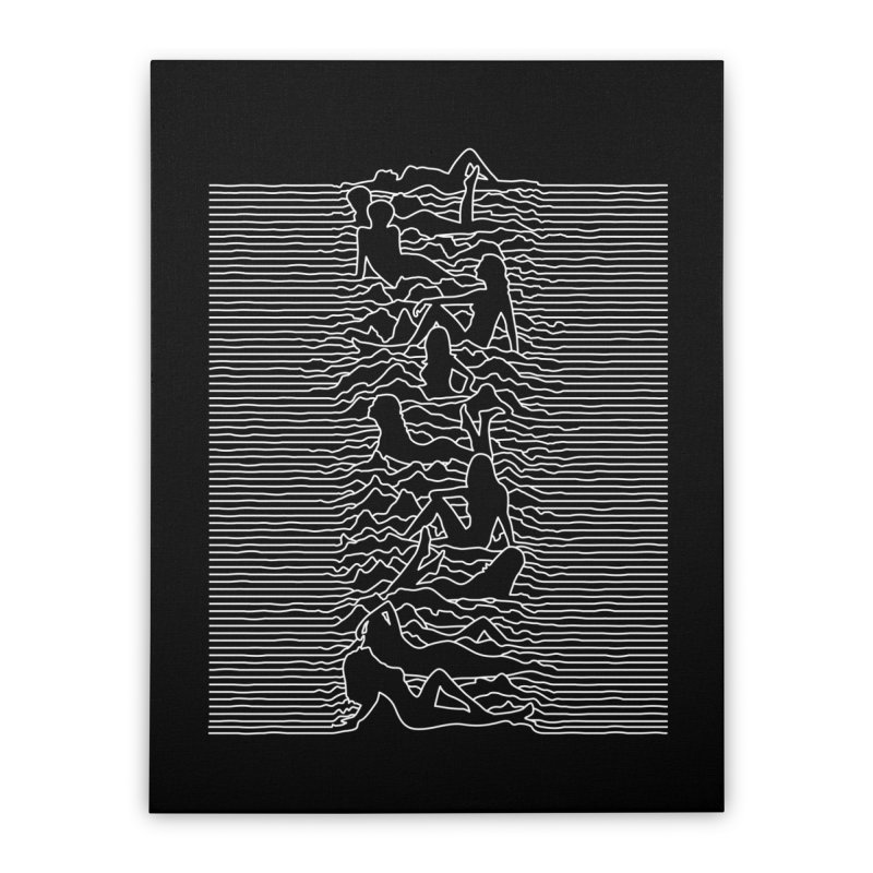 HOT DIVISION Home Stretched Canvas by alchemist's Artist Shop
