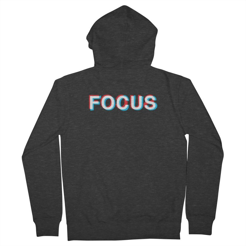 FOCUS Women's Zip-Up Hoody by alchemist's Artist Shop