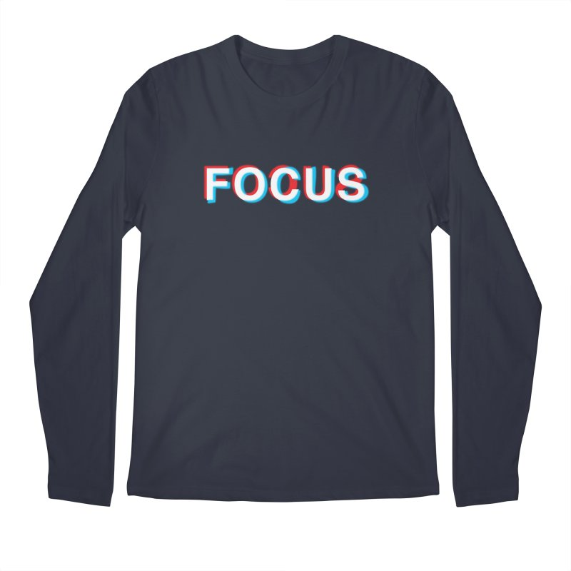 FOCUS Men's Longsleeve T-Shirt by alchemist's Artist Shop