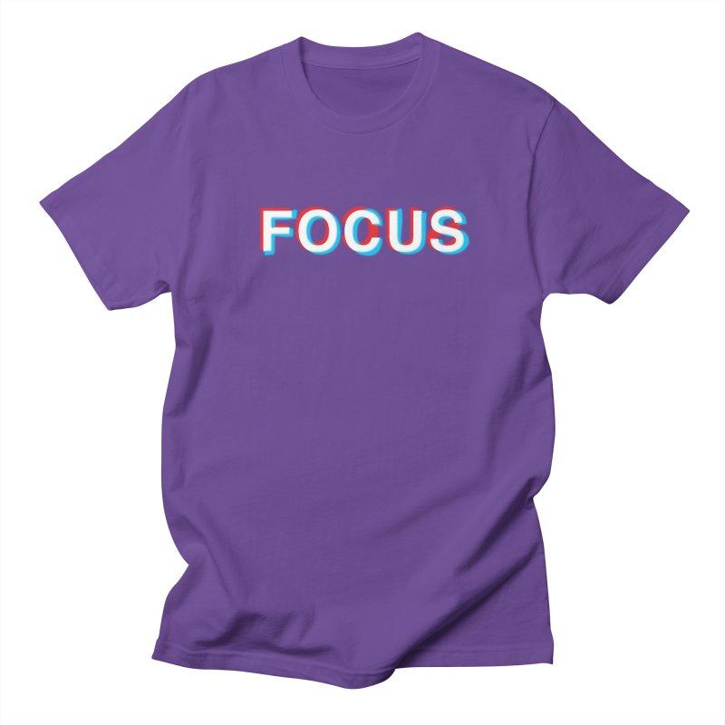 FOCUS Women's Unisex T-Shirt by alchemist's Artist Shop