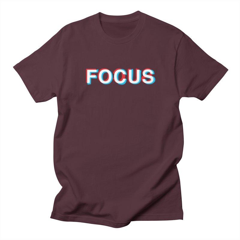 FOCUS Men's T-Shirt by alchemist's Artist Shop