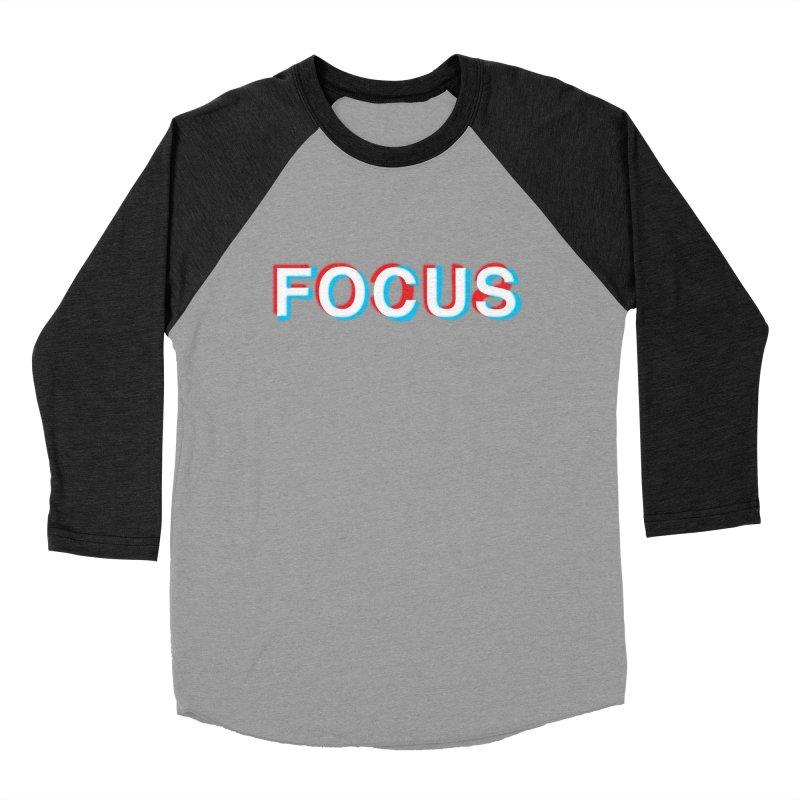 FOCUS Women's Baseball Triblend T-Shirt by alchemist's Artist Shop