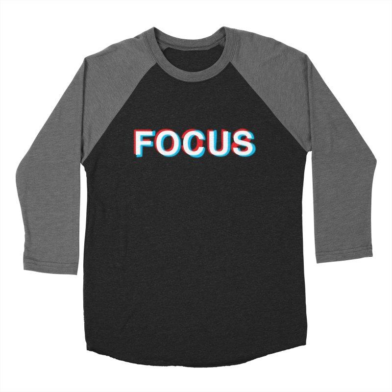 FOCUS Men's Baseball Triblend T-Shirt by alchemist's Artist Shop