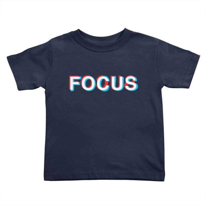 FOCUS Kids Toddler T-Shirt by alchemist's Artist Shop