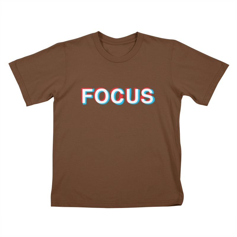 FOCUS Kids T-Shirt by alchemist's Artist Shop