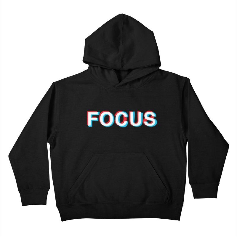 FOCUS Kids Pullover Hoody by alchemist's Artist Shop