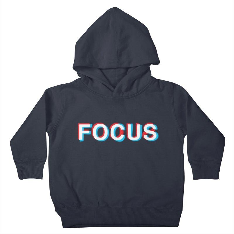 FOCUS Kids Toddler Pullover Hoody by alchemist's Artist Shop