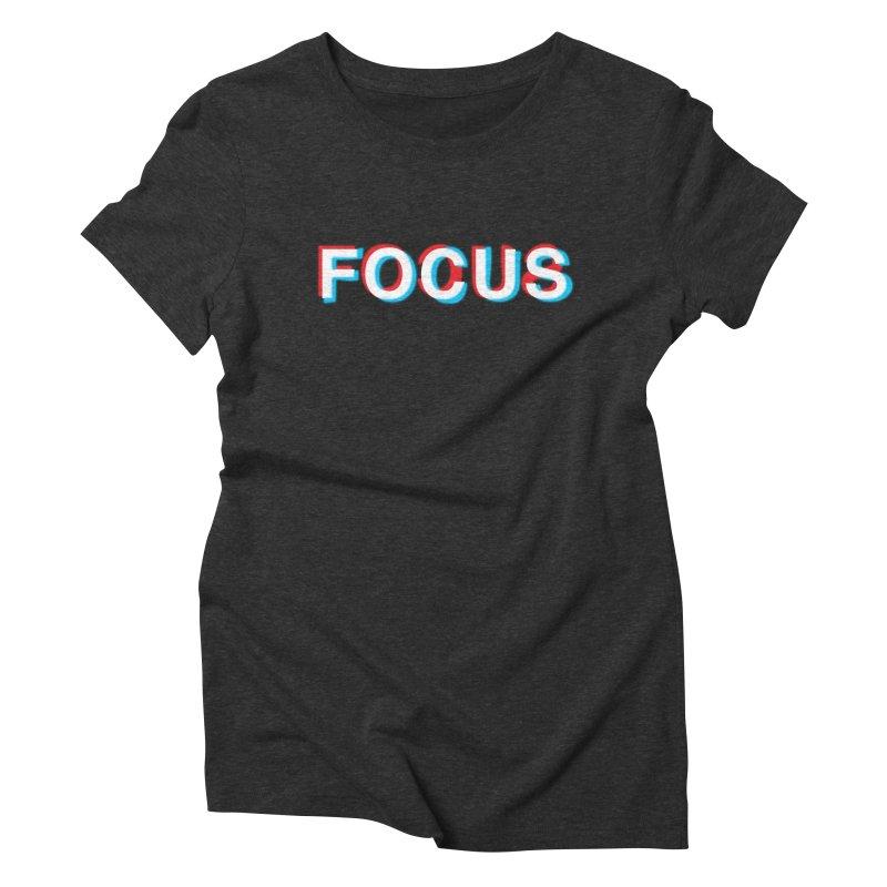 FOCUS Women's Triblend T-Shirt by alchemist's Artist Shop