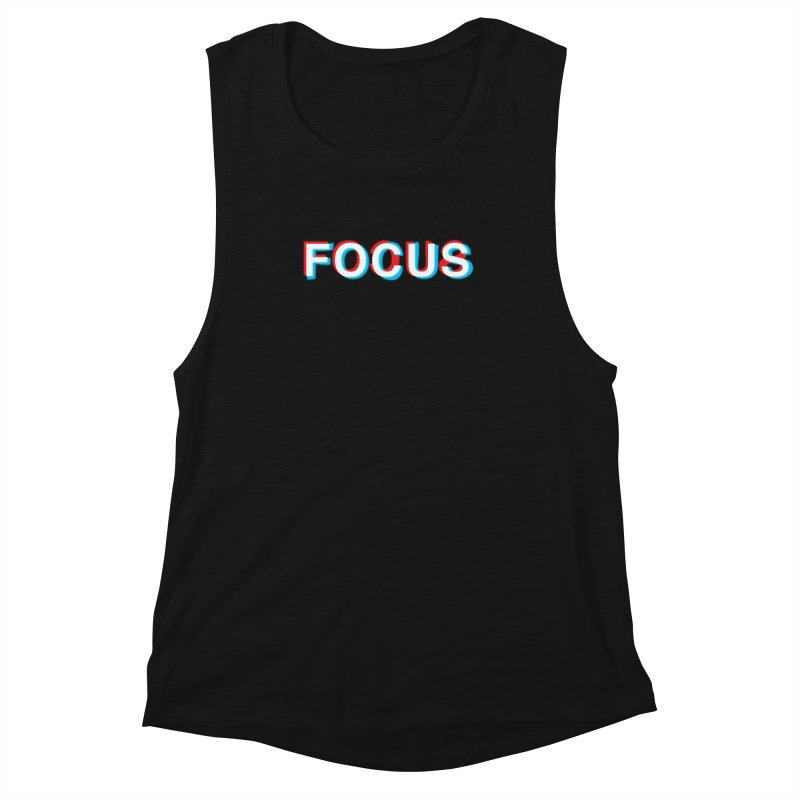 FOCUS Women's Muscle Tank by alchemist's Artist Shop