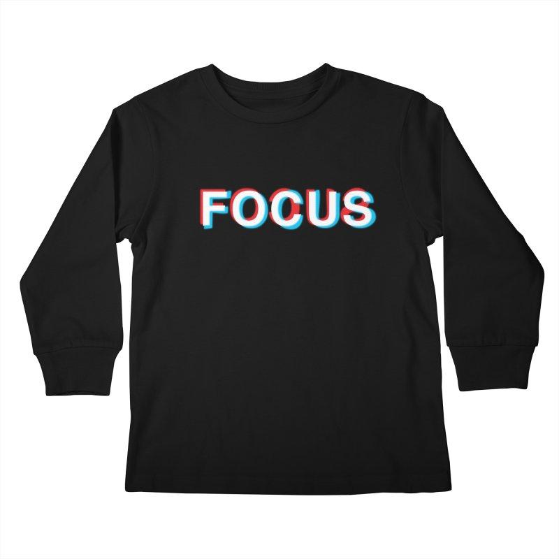 FOCUS Kids Longsleeve T-Shirt by alchemist's Artist Shop