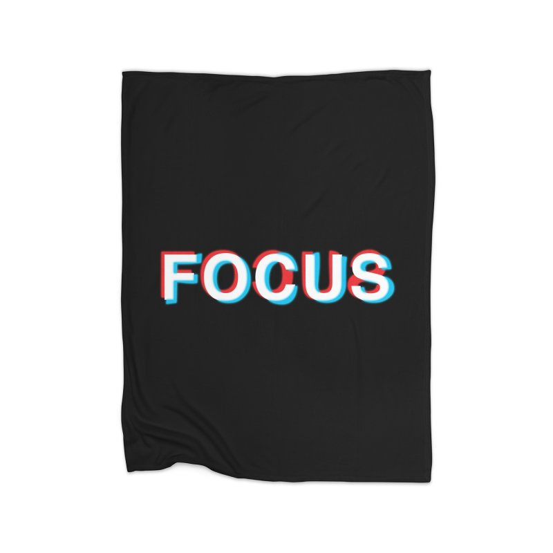 FOCUS Home Blanket by alchemist's Artist Shop