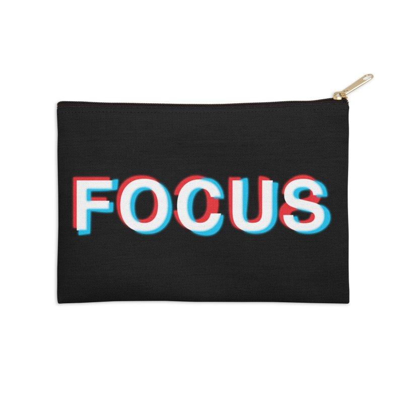 FOCUS Accessories Zip Pouch by alchemist's Artist Shop