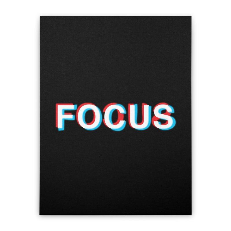 FOCUS Home Stretched Canvas by alchemist's Artist Shop