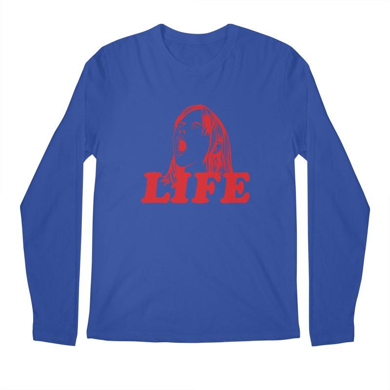 FUCK LIFE Men's Longsleeve T-Shirt by alchemist's Artist Shop