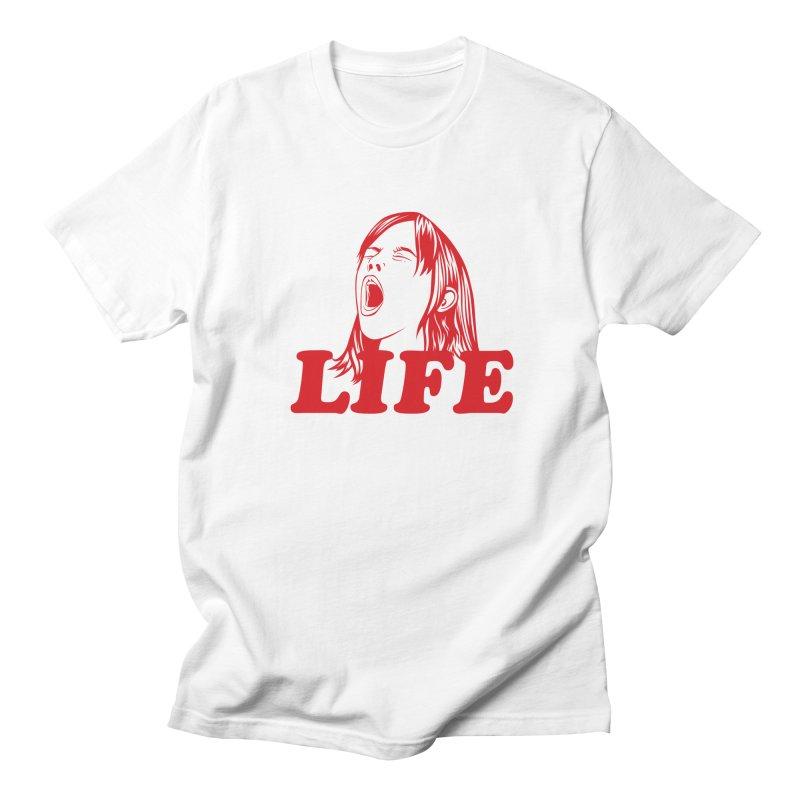 FUCK LIFE Men's T-Shirt by alchemist's Artist Shop