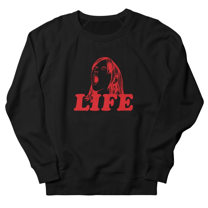 FUCK LIFE Men's Sweatshirt by alchemist's Artist Shop