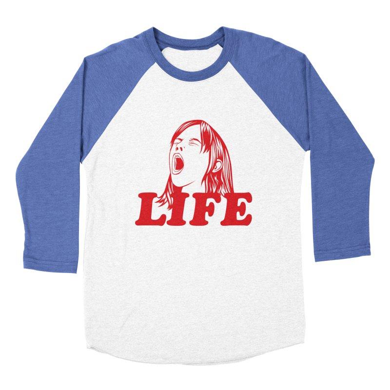FUCK LIFE Women's Baseball Triblend T-Shirt by alchemist's Artist Shop