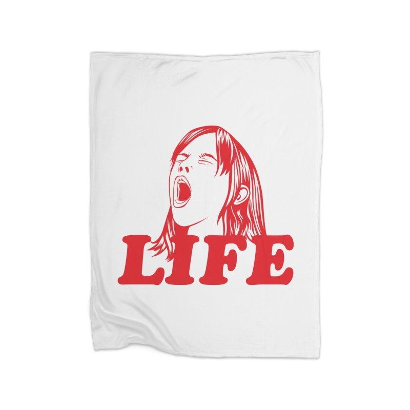 FUCK LIFE Home Blanket by alchemist's Artist Shop