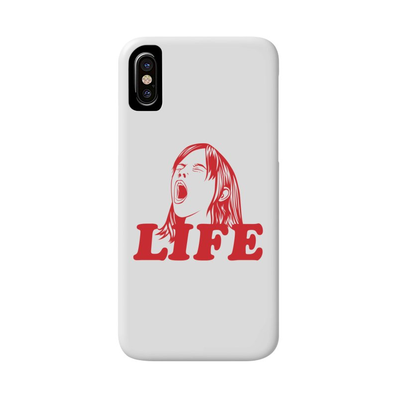 FUCK LIFE Accessories Phone Case by alchemist's Artist Shop
