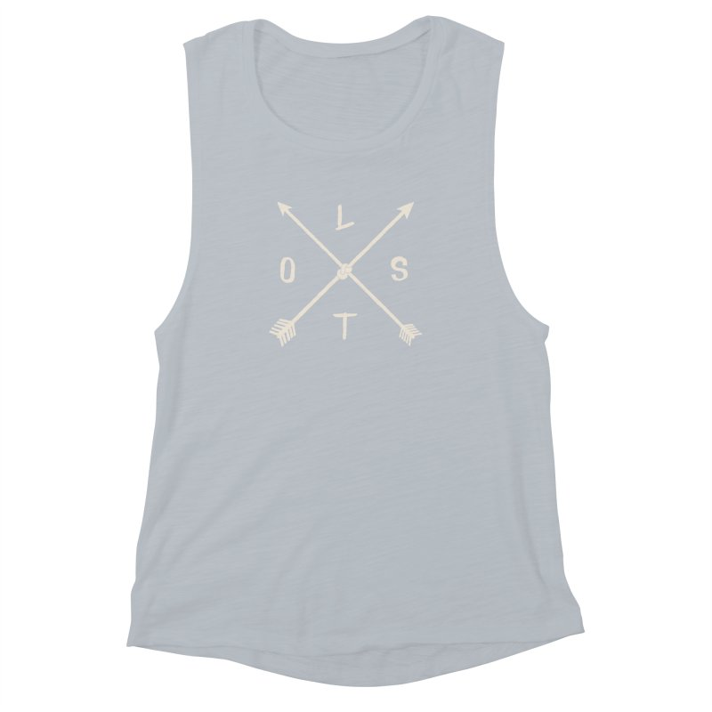 LOST Women's Muscle Tank by alchemist's Artist Shop