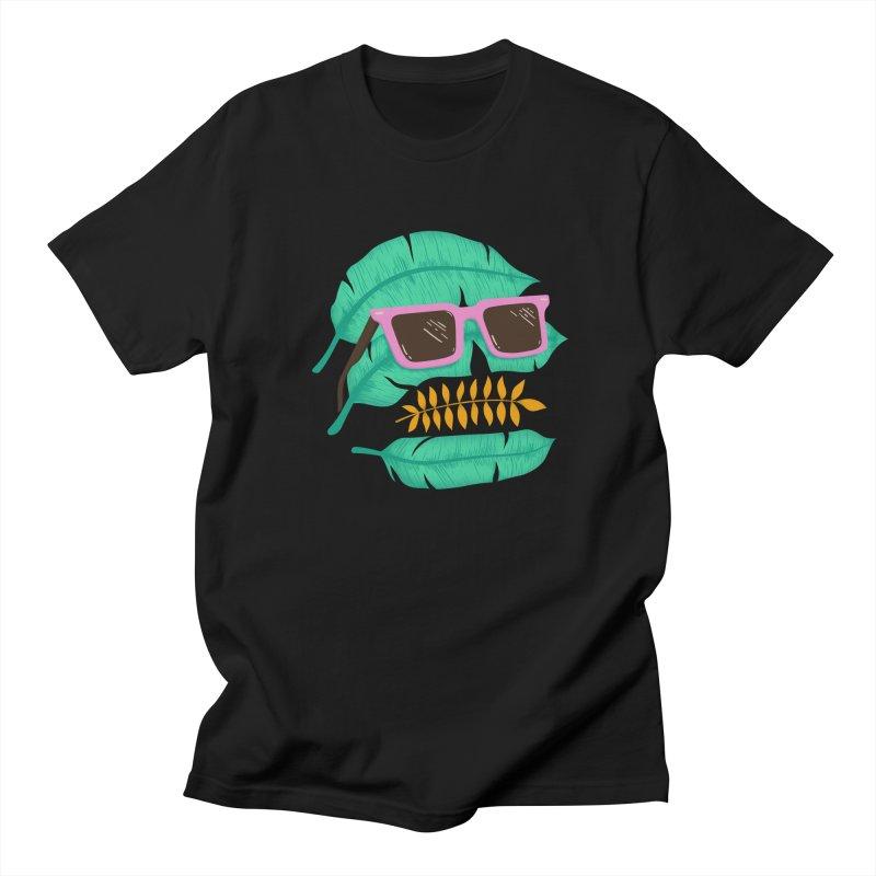 SKULLEAVES Men's T-Shirt by alchemist's Artist Shop