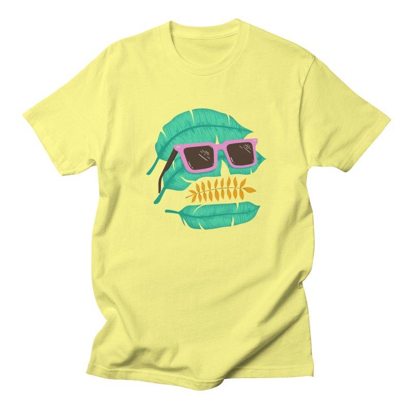 SKULLEAVES Women's Unisex T-Shirt by alchemist's Artist Shop