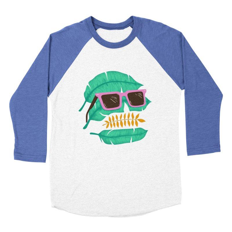 SKULLEAVES Women's Baseball Triblend T-Shirt by alchemist's Artist Shop