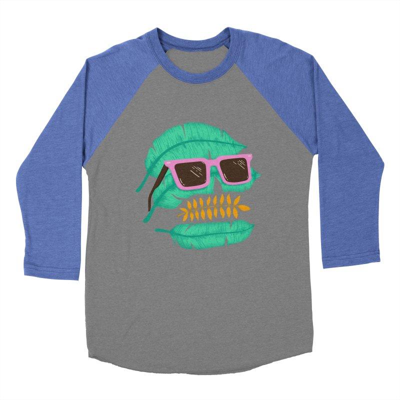SKULLEAVES Men's Baseball Triblend Longsleeve T-Shirt by alchemist's Artist Shop