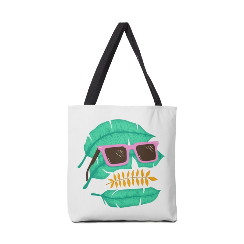 SKULLEAVES Accessories Bag by alchemist's Artist Shop