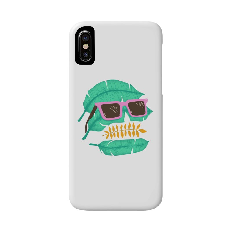 SKULLEAVES Accessories Phone Case by alchemist's Artist Shop