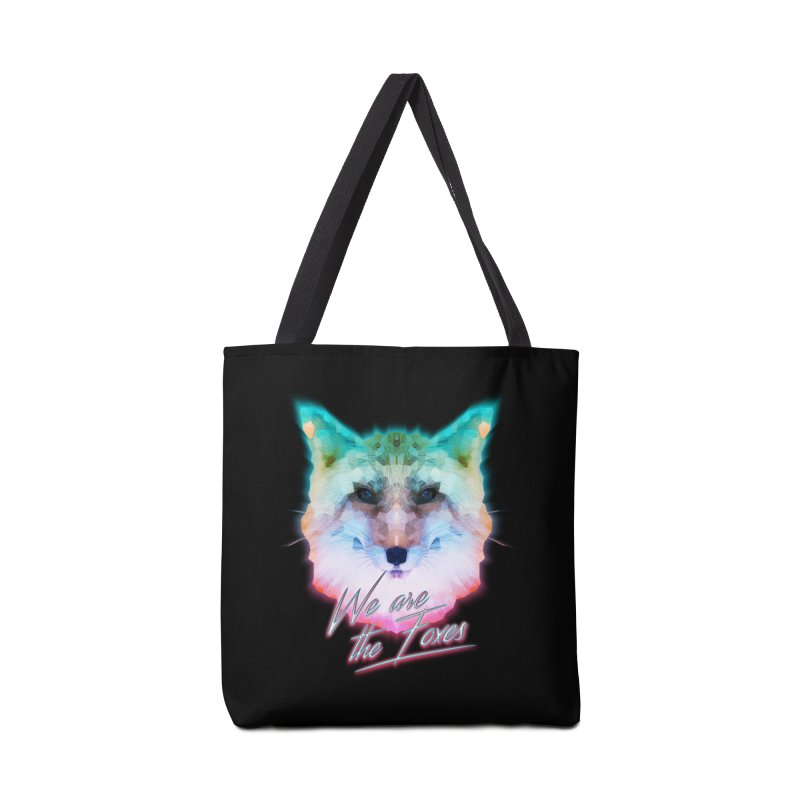 WE ARE THE FOXES Accessories Bag by alchemist's Artist Shop