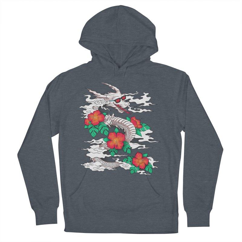 CHILL DRAGON Men's Pullover Hoody by alchemist's Artist Shop