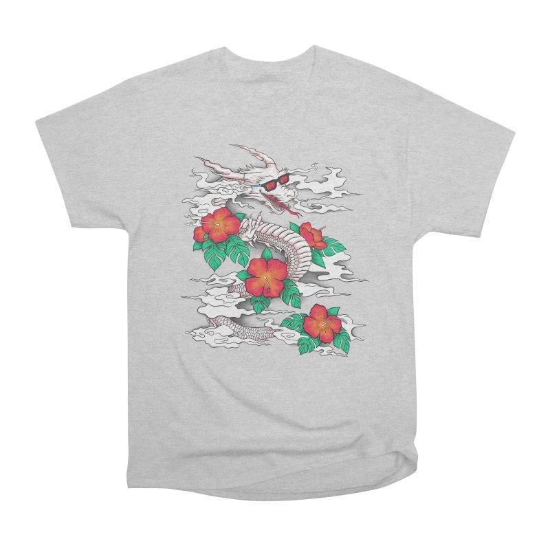 CHILL DRAGON Men's Classic T-Shirt by alchemist's Artist Shop