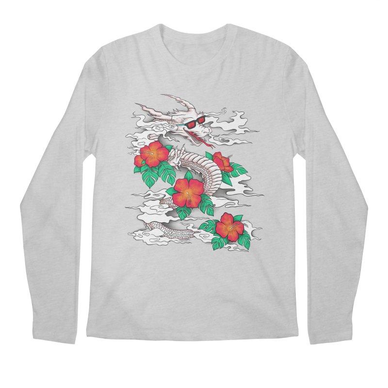CHILL DRAGON Men's Longsleeve T-Shirt by alchemist's Artist Shop