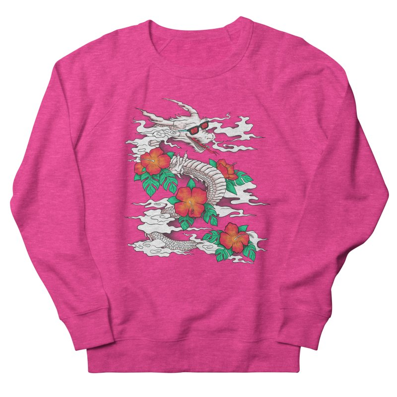 CHILL DRAGON Men's Sweatshirt by alchemist's Artist Shop