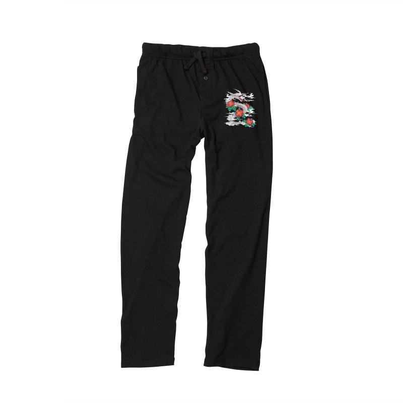 CHILL DRAGON Men's Lounge Pants by alchemist's Artist Shop