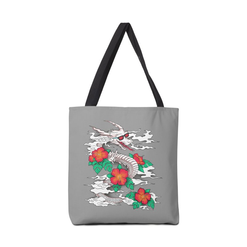 CHILL DRAGON Accessories Bag by alchemist's Artist Shop