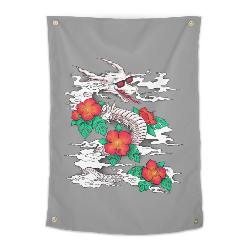 CHILL DRAGON Home Tapestry by alchemist's Artist Shop