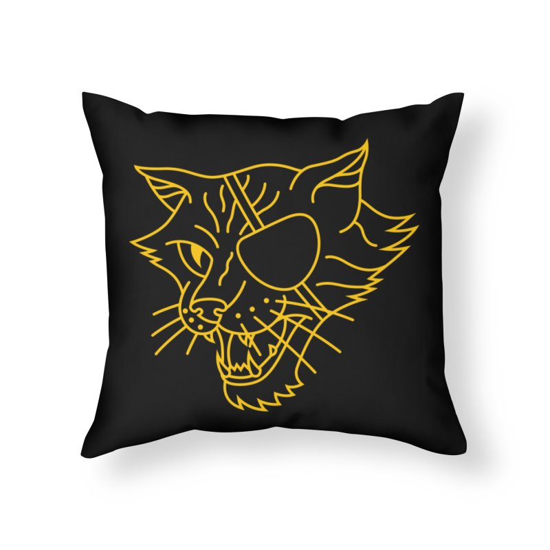 NICK PURRY Home Throw Pillow by alchemist's Artist Shop
