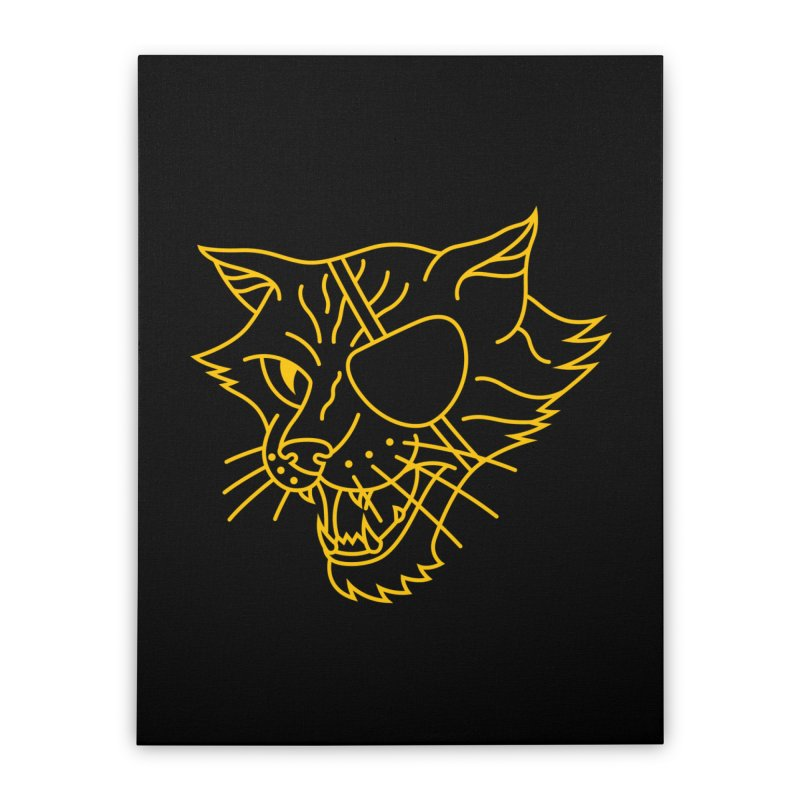 NICK PURRY Home Stretched Canvas by alchemist's Artist Shop
