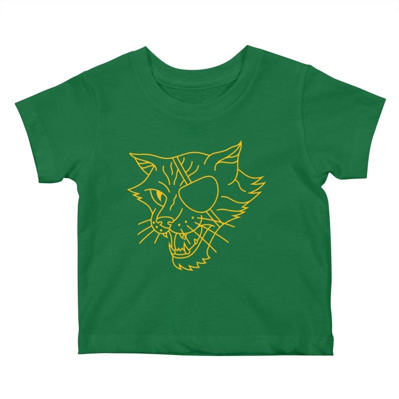 NICK PURRY Kids Baby T-Shirt by alchemist's Artist Shop
