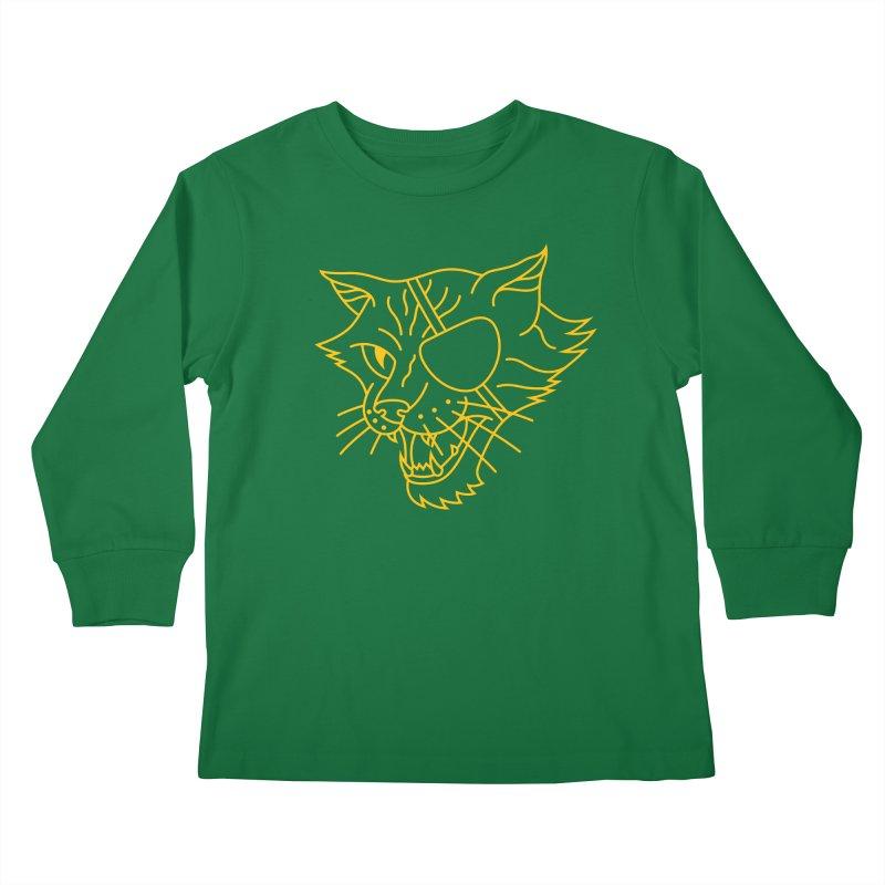 NICK PURRY Kids Longsleeve T-Shirt by alchemist's Artist Shop