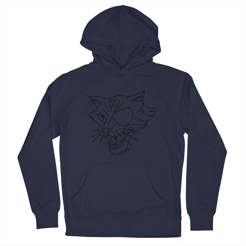 NICK PURRY V. BLACK Women's French Terry Pullover Hoody by alchemist's Artist Shop