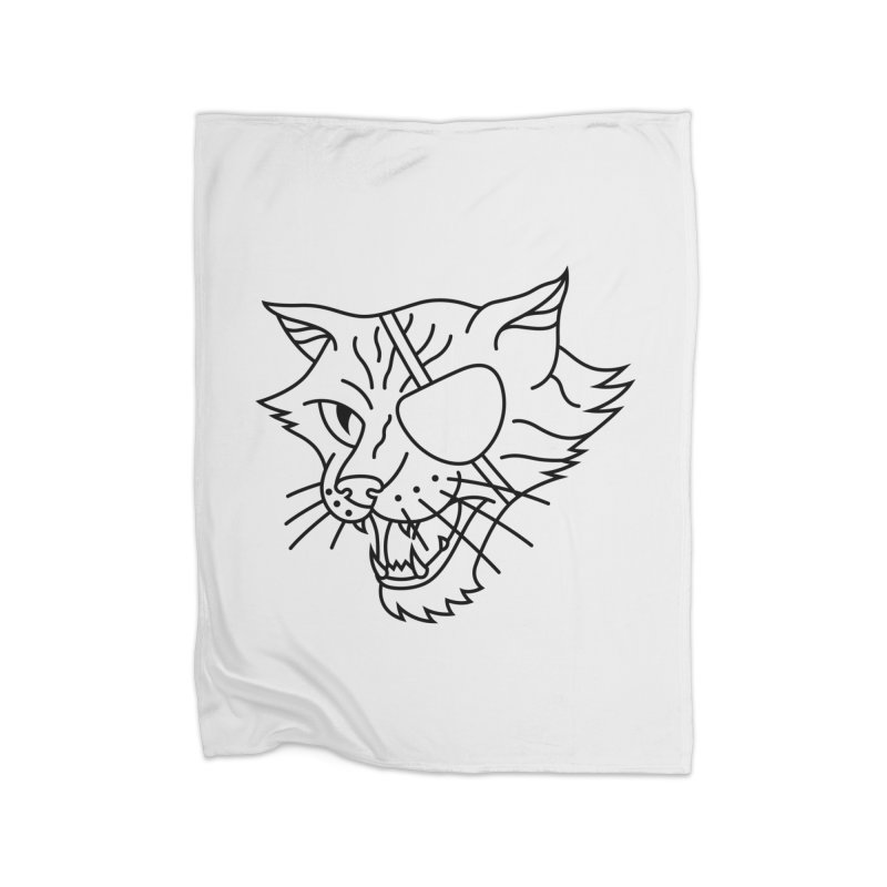 NICK PURRY V. BLACK Home Blanket by alchemist's Artist Shop