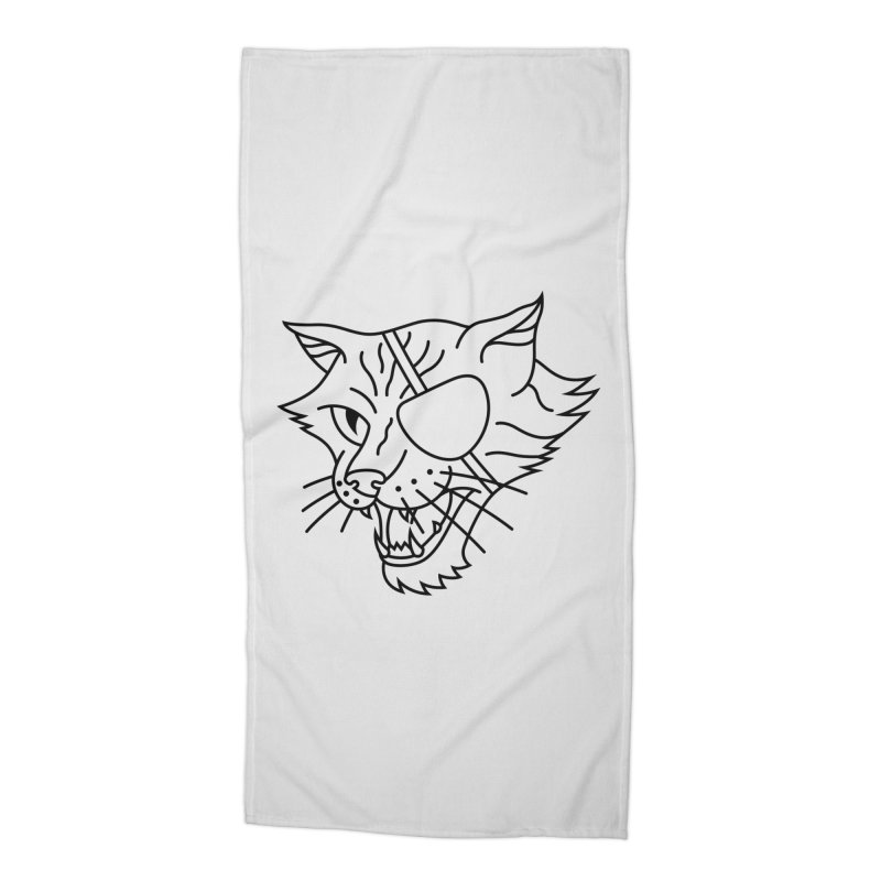 NICK PURRY V. BLACK Accessories Beach Towel by alchemist's Artist Shop