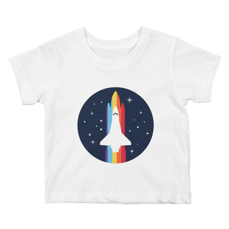 FRONTIER V2 Kids Baby T-Shirt by alchemist's Artist Shop